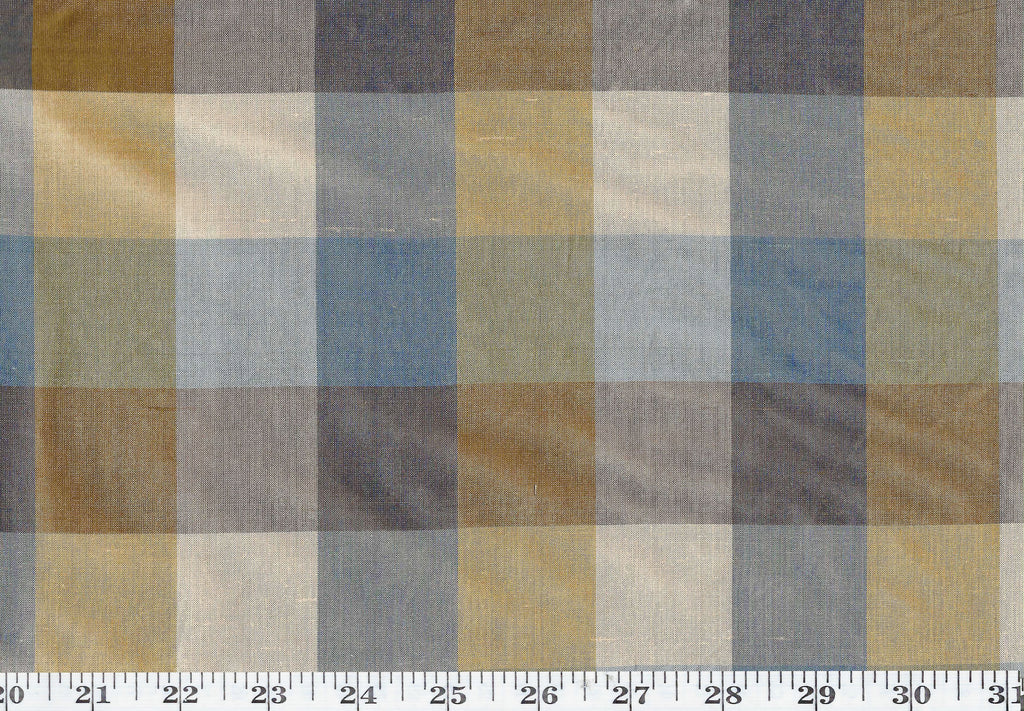 Masala CL Cadet Drapery Fabric by American Silk Mills