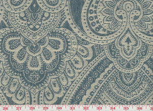 Melodrama CL Harbor Drapery Upholstery Fabric by P Kaufmann
