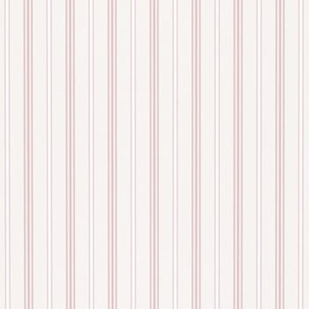 Milland Stripe CL Pink Double Roll of Wallpaper by Ralph Lauren