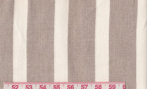 Millport Stripe CL Twine Upholstery Fabric by Ralph Lauren