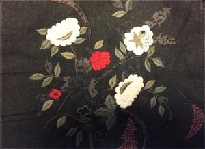 Moorland Embroidery CL Cinder Drapery Upholstery Fabric by Ralph Lauren