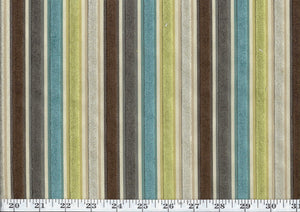 Myriad CL Woodland Cut Velvet Upholstery Fabric by Golding Fabrics
