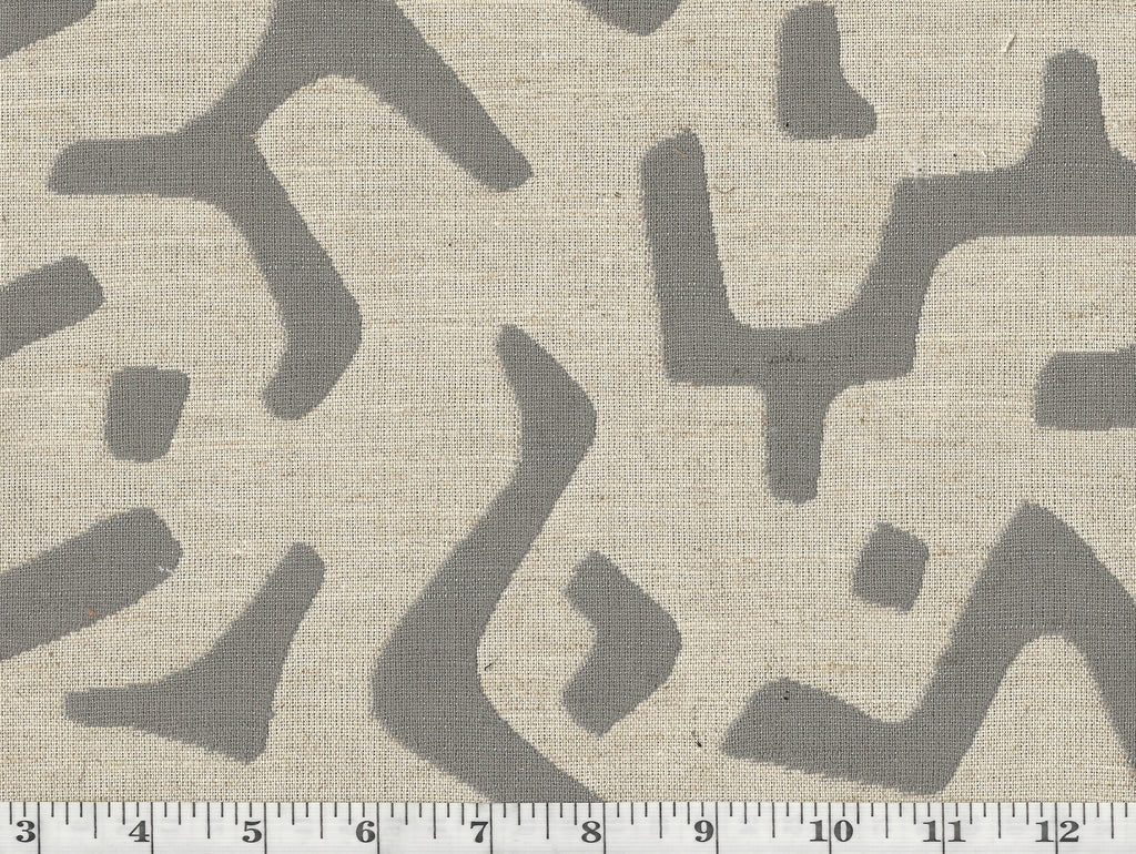 Nara CL Stone Drapery Upholstery Fabric by P Kaufmann