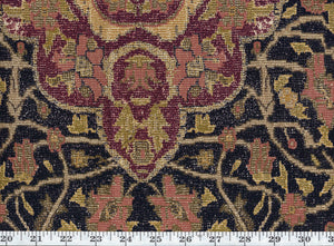 New Canonbury Tapestry CL Ebony Drapery Upholstery Fabric by Ralph Lauren