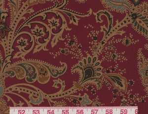 Northcliffe Paisley CL Juniper Berry Drapery Upholstery Fabric by Ralph Lauren