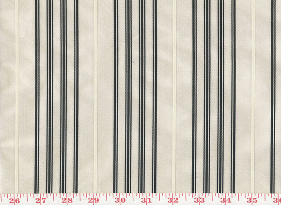 Palatine Silk Stripe CL Pearl Upholstery Fabric by Ralph Lauren