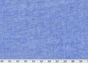 "Pomponio Sheer CL Lapis 122"" Width Drapery Fabric by Ralph Lauren"