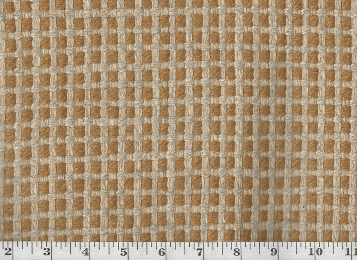 Protege Grid CL Golden Dune Upholstery Fabric by Diversitex