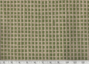 Protege Grid CL Olive Tree Upholstery Fabric by Diversitex