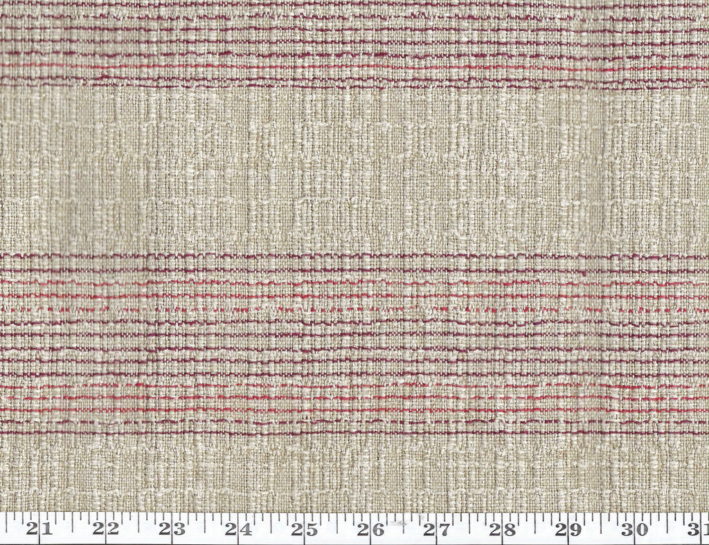 Puebla Stripe CL Clay Drapery Upholstery Fabric by Ralph Lauren