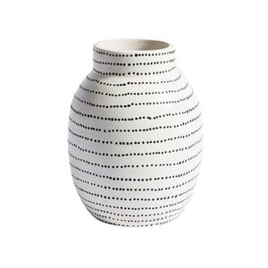 Matty Vase CL White by Curated Kravet