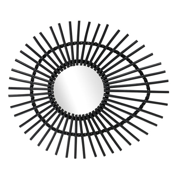 Elis Mirror CL Black by Curated Kravet