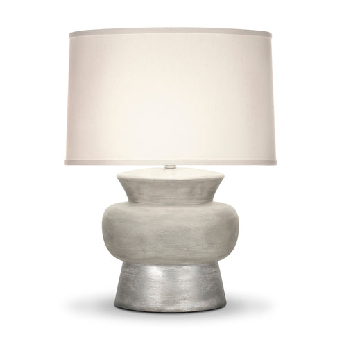 David Table Lamp CL silver by Curated Kravet