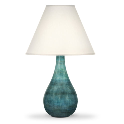 Mila Table Lamp CL multiblue by Curated Kravet