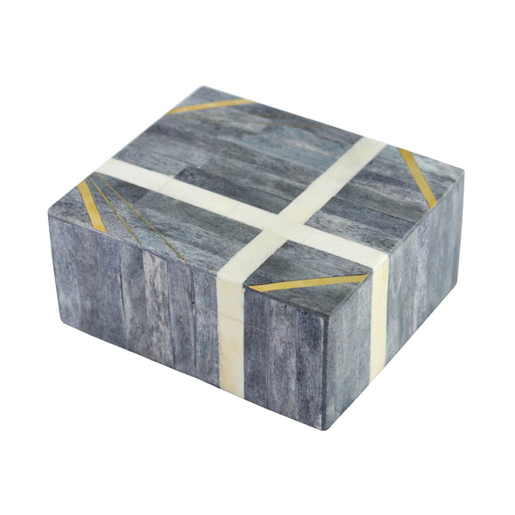 Tempe Box CL Gray by Curated Kravet