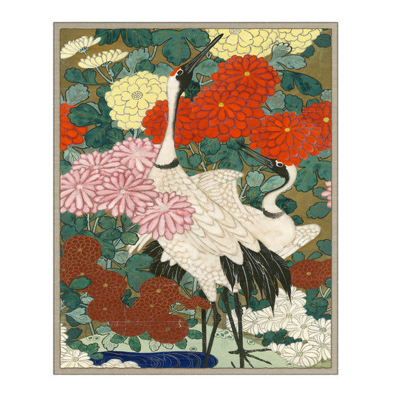 Asian Crane by Curated Kravet