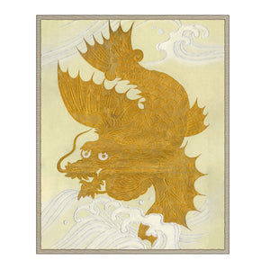 Golden Dragon by Curated Kravet