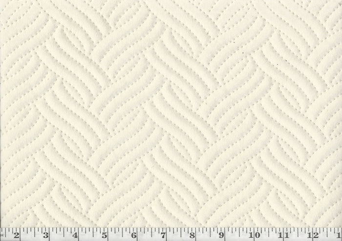 Quilted CL Cloud Top of Bed - Upholstery Fabric by Golding Fabrics