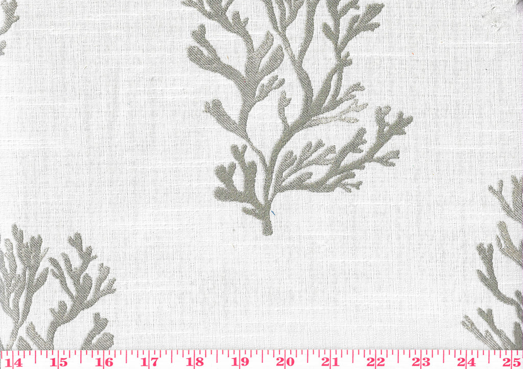 Reefers CL Taupe Coastal Upholstery Fabric by Golding Fabrics
