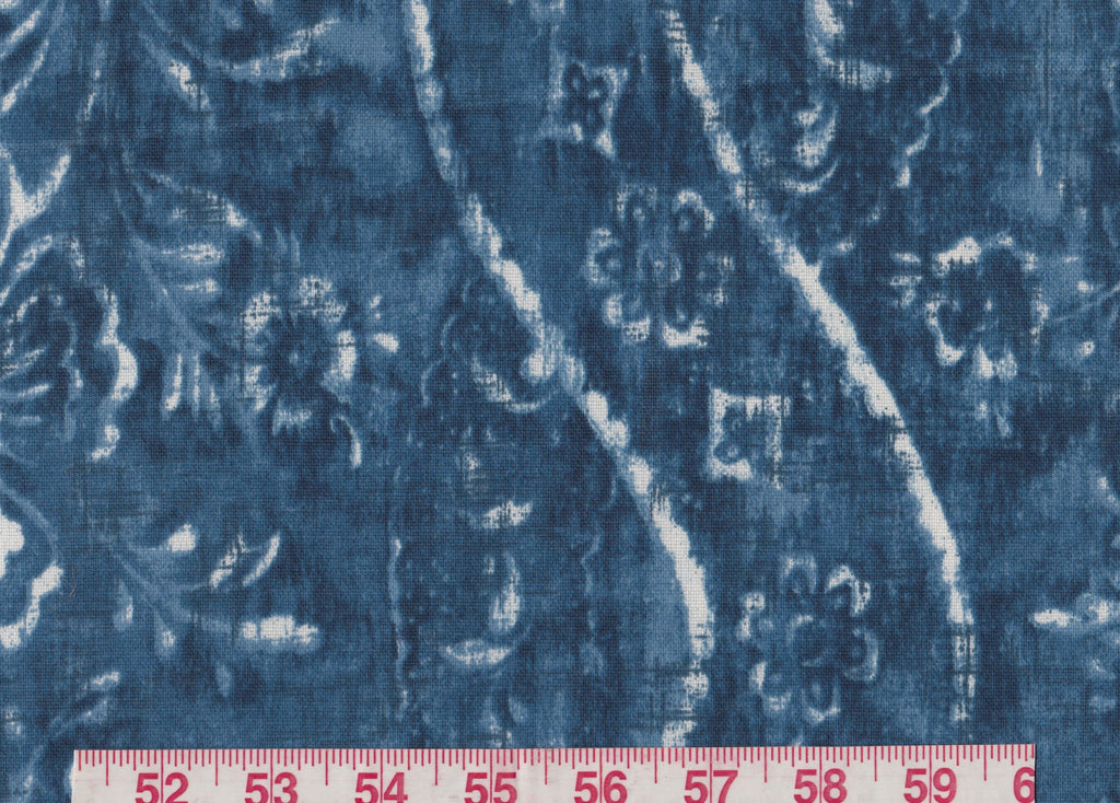 Resort Batik CL Indigo Outdoor Upholstery Fabric by Ralph Lauren