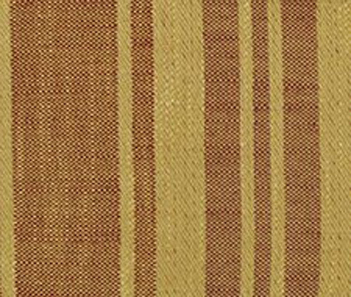 Rigato Genoa CL Terra Cotta Upholstery Fabric by Clarence House