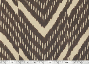 Rimba Ikat CL Sepia Drapery Upholstery Fabric by Ralph Lauren