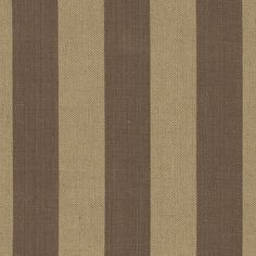Riverton Stripe CL Sepia Drapery Upholstery Fabric by Ralph Lauren