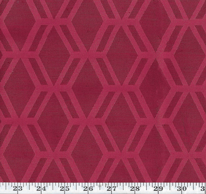 Rovos CL Berry Drapery Upholstery Fabric by American Silk Mills