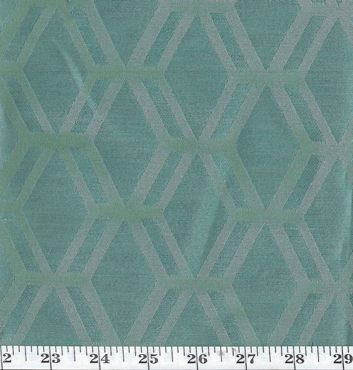 Rovos CL Lagoon Drapery Upholstery Fabric by American Silk Mills