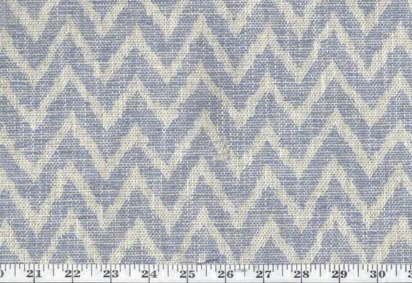 Rudy CL Bluejay Drapery Upholstery Fabric by DeLeo Textiles