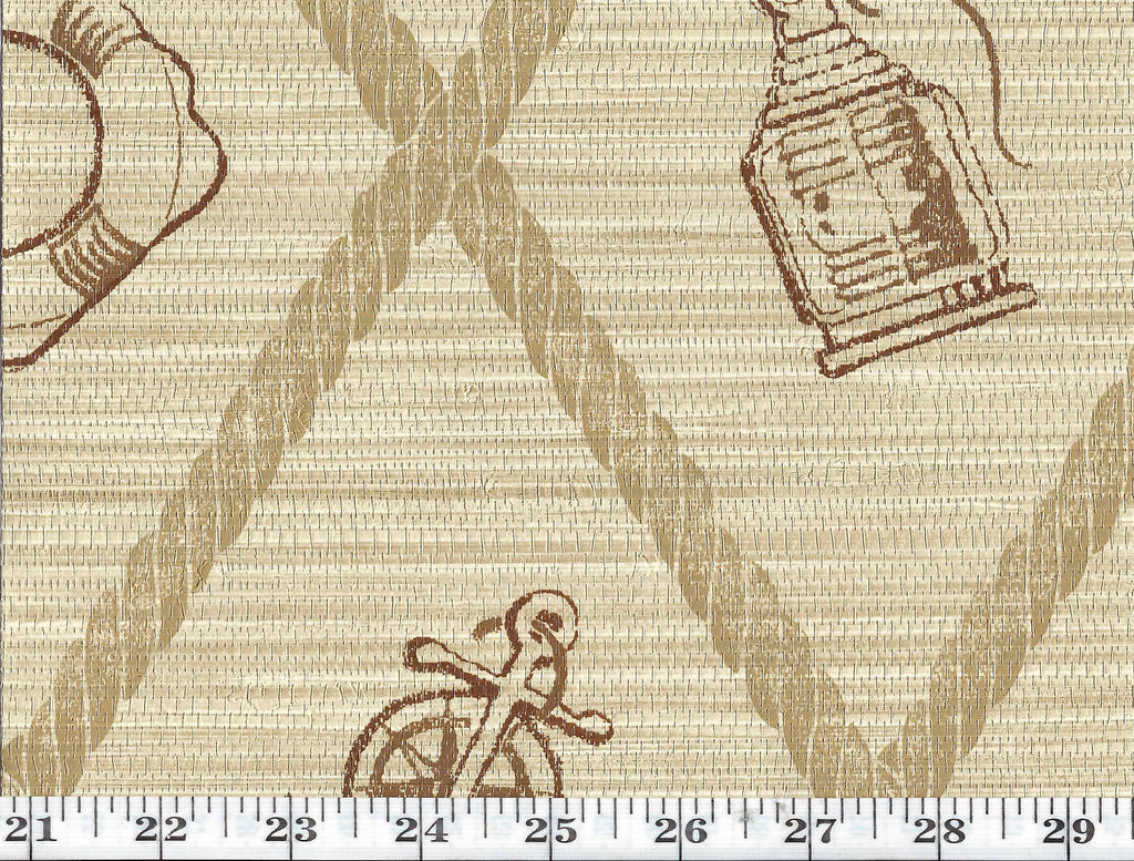 S.S. Hessie CL Hopsack Double Roll of Wallpaper by Ralph Lauren