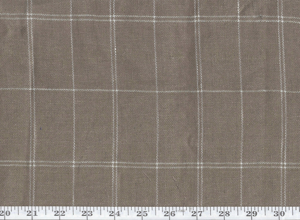 Sauria Grid CL Gazelle Drapery Upholstery Fabric by Ralph Lauren