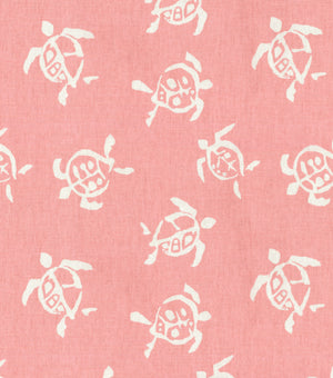 Sea Turtles CL Hibiscus Drapery Upholstery Fabric by PK Lifestyles (Waverly)