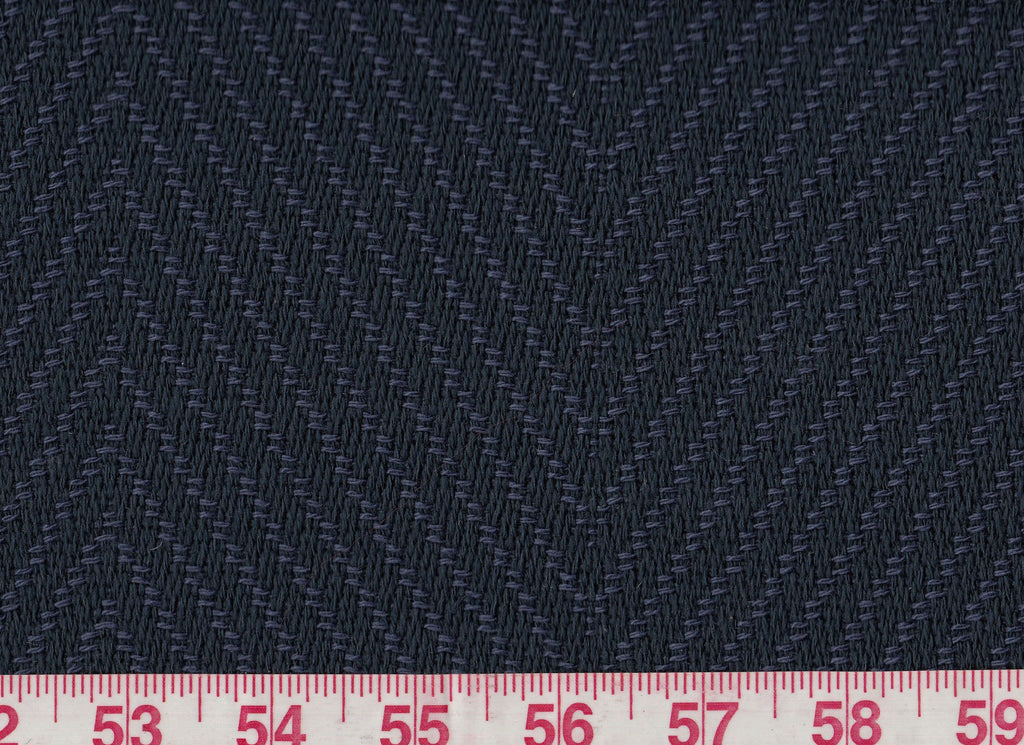 Seabeach Chevron CL Navy Outdoor Upholstery Fabric by Ralph Lauren