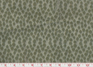 7/8 yard of Selvatico CL Moss Silk Velvet Upholstery Fabric by Clarence House