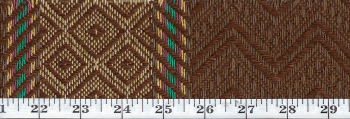 Shawnee Weave Blanket Stripe CL Rattan Upholstery Fabric by Ralph Lauren