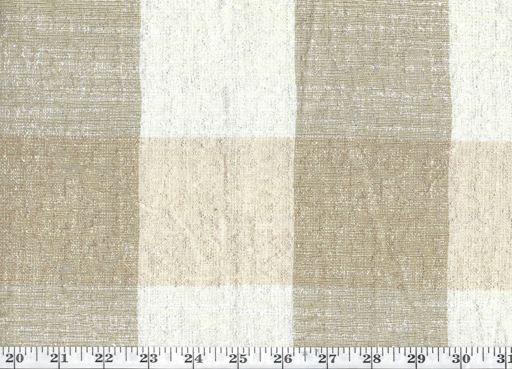 Siam Plaid CL Dawn Drapery Upholstery Fabric by American Silk Mills