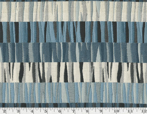 Sonic CL Blue Upholstery Fabric by Golding Fabrics
