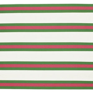 Soriano Stripe CL Kelly Green Outdoor Upholstery Fabric by Ralph Lauren