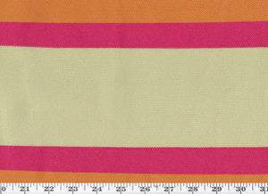 Soriano Stripe CL Blaze Outdoor Upholstery Fabric by Ralph Lauren