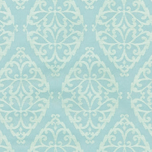 Stencil Study CL Tidepool Drapery Upholstery Fabric by PK Lifestyles (Waverly)