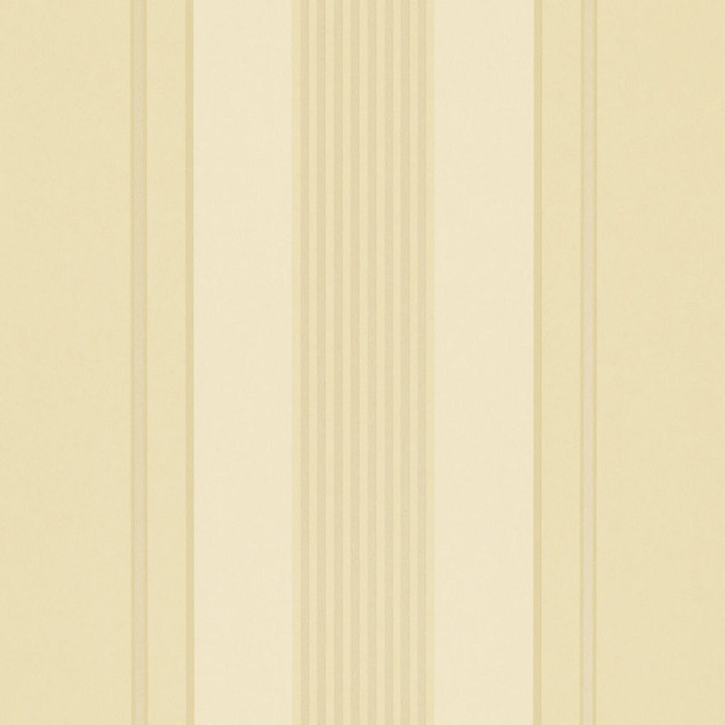 Sterling Stripe CL Tea Double Roll of Wallpaper by Ralph Lauren
