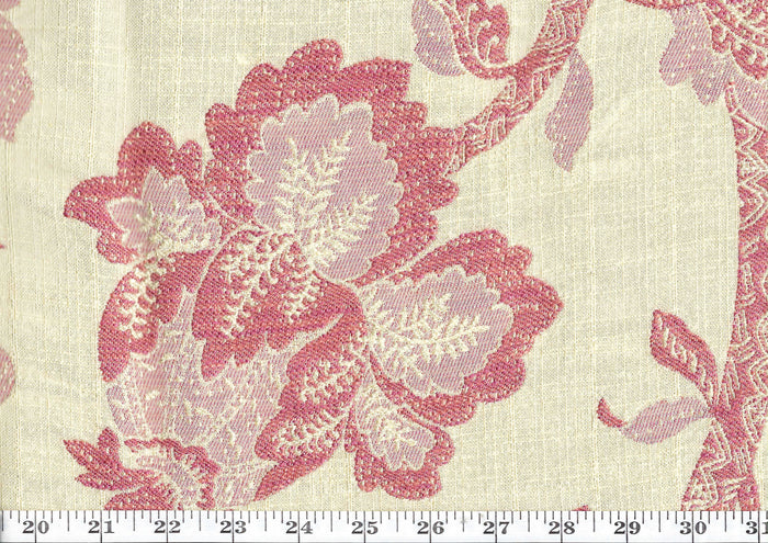 Sukaraja CL Cream Upholstery Fabric by American Silk Mills