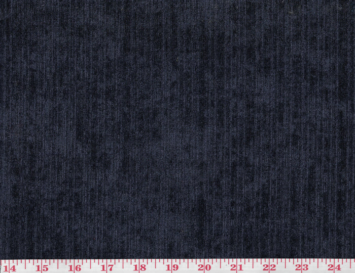 Surfside CL Navy Outdoor Indoor Chenille Upholstery Fabric by P Kaufmann
