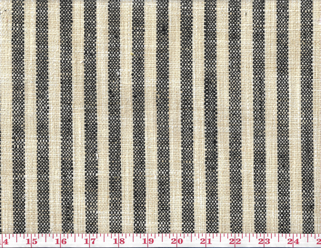 Swift CL Graphite Drapery Upholstery Fabric by P Kaufmann