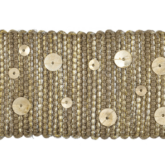 Starry Night CL Nickel Fabric Trim By Kravet