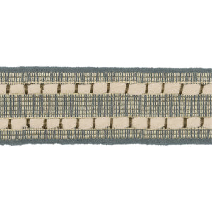 Rambletape CL Indigo  Fabric Trim by Kravet