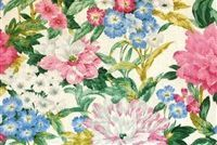 The Queen's Favorite CL Rose Drapery Upholstery Fabric by P Kaufmann