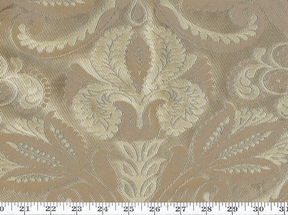 Thomas Fancy Jacquard CL Bronze Upholstery Fabric by American Silk Mills