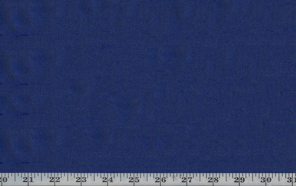 Tikka CL Royal Blue Backed Silk Drapery Upholstery Fabric by American Silk Mills